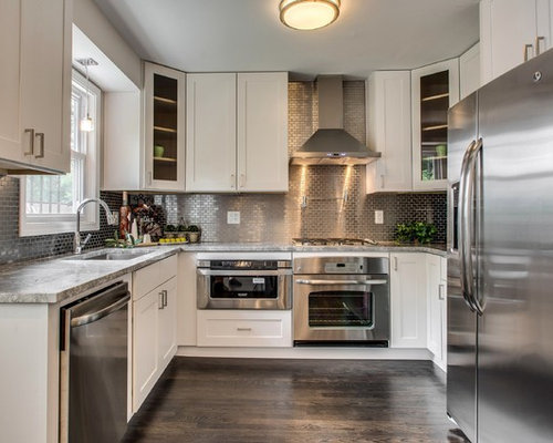 Stainless Steel Tile Backsplash Houzz