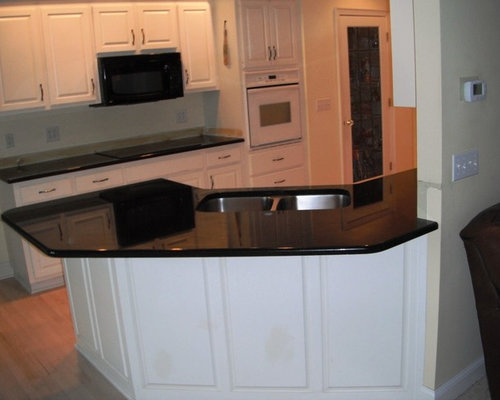 SaveEmail. 7-2-12 BLACK GALAXYGranite Colors for white Cabinets