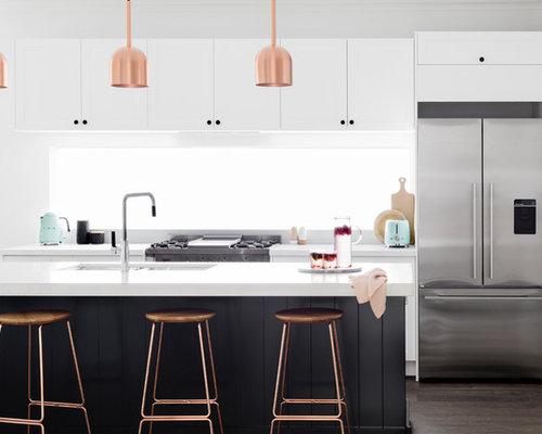moderne k chen mit fenster k chenr ckwand ideen bilder. Black Bedroom Furniture Sets. Home Design Ideas