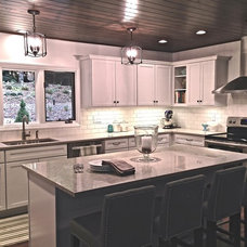 Traditional Kitchen by Gail Barley Interiors, LLC