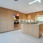 Custom White Oak | Arete Kitchens - Contemporary - Kitchen - Austin - by Arete European Kitchens