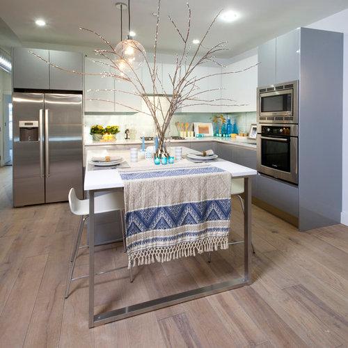 Kitchen Cabinets Edmonton: Bleached Wood