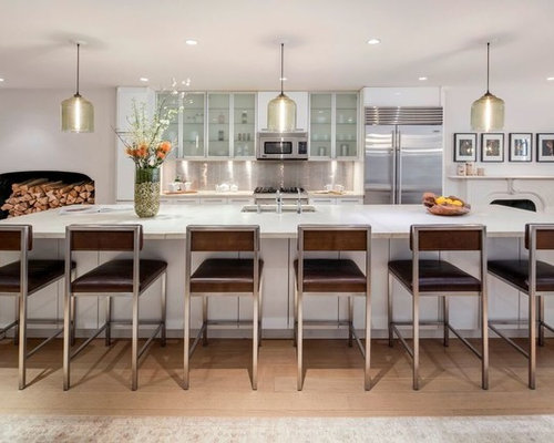 Contemporary New York Kitchen Design Ideas & Remodel Pictures | Houzz
