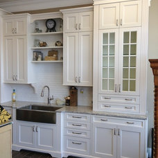 Traditional Kitchen by Traci Whatley 75 Cabinets