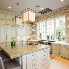 Mediterranean Kitchen by Claremont Companies
