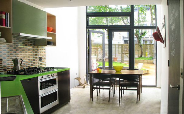 Contemporary Kitchen by Amenity Space