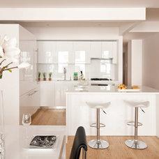 Contemporary Kitchen by Joyce Elizabeth