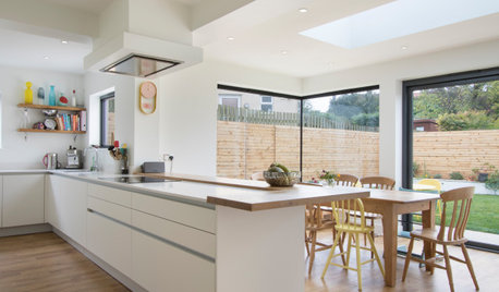 Houzz Tour: A 1930s Semi Modernised for Family Life