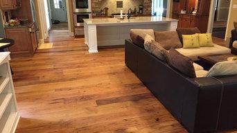 8-12 Inch Wide Vintage American Wormy Chestnut Flooring