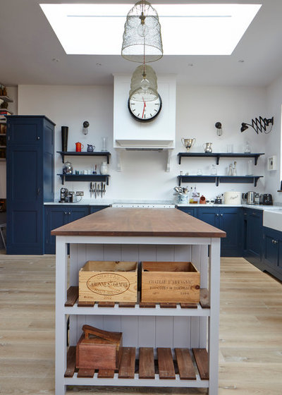 You Tell Us Trends Blue Kitchens