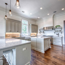 Transitional Kitchen by Toulmin Homes