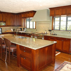 Traditional Kitchen by Stoecker and Northway Architects, Inc.