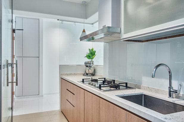Scandinavian Kitchen by DB Studio