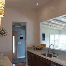 Midcentury Kitchen by C W Quinn Home