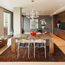 Contemporary Kitchen by Benjamin Silver Design