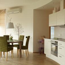 Contemporary Kitchen by Dalius & Greta Design