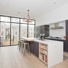 Contemporary Kitchen by Jensen C. Vasil  Architect PC