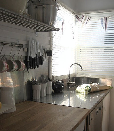 Traditional Kitchen by A Beach Cottage