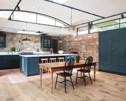 cuisine avec un sol en carreau de terre cuite photos et id 233 es d 233 co de cuisines