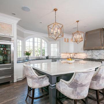 A Beautifully Fresh Kitchen in Atlanta