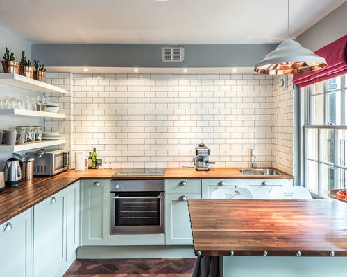 Traditional Eat In Kitchen Ideas   Eat In Kitchen   Traditional Dark Wood  Floor