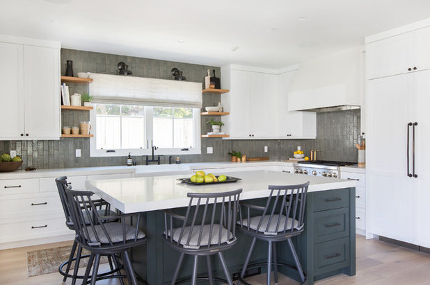 Transitional Kitchen by GDC Construction