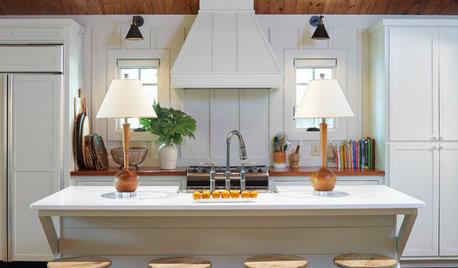 New This Week: 3 Ways To Warm Up A White Kitchen