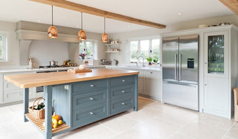 A classic shaker kitchen with a contemporary twist