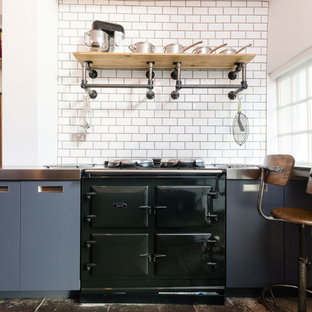 This is an example of an urban kitchen in Other.