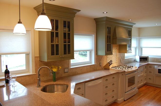 Kitchen Odd Shaped Island Corner Sinks