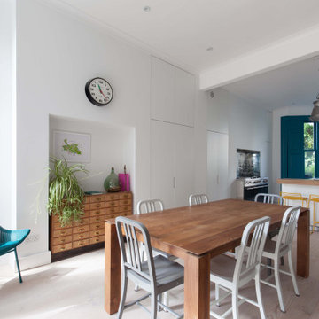 A Colourful Modern Hampstead Family Home