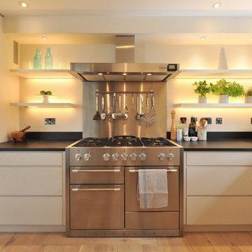 A Contemporary Kitchen Near Chichester