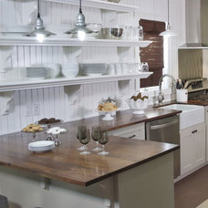 traditional kitchen by Kelli Kaufer Designs