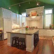 Farmhouse Kitchen by Hyrum McKay Bates Design, Inc.