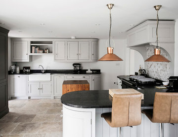 A Country Cottage Kitchen Design By Burlanes