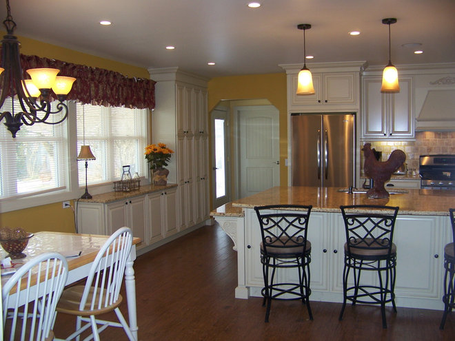 Traditional Kitchen by Kristen Shellenbarger Designs