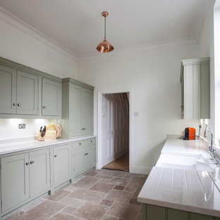 A Country Style Galley Kitchen By Burlanes
