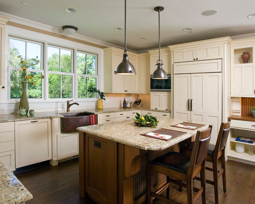 Off White Kitchen Images Glamorous Off White Kitchen Cabinets  Houzz Decorating Inspiration