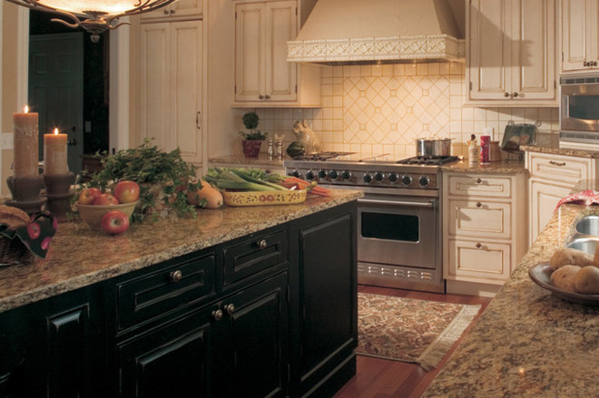 Eclectic Kitchen by Dura Supreme Cabinetry