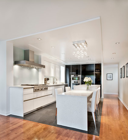 Contemporary Kitchen by Design First Interiors