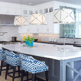 A Fairfield Country Shoreline Home Kitchen