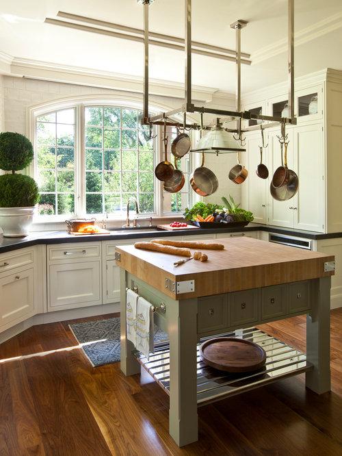 Best Pot Rack Over Sink Design Ideas & Remodel Pictures | Houzz
