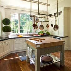 Traditional Kitchen by Marshall Morgan Erb Design Inc.