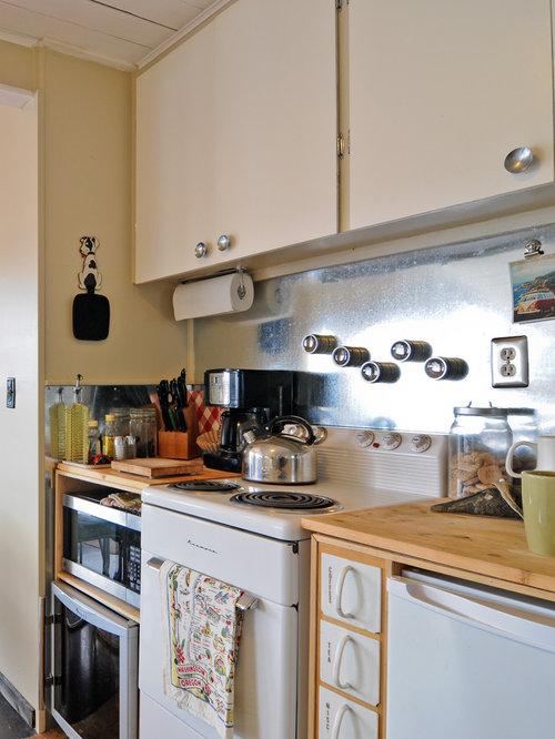 Galvanized Metal Backsplash Home Design Ideas, Pictures, Remodel and Decor