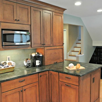 A Frank Lloyd Wright Inspired Kitchen