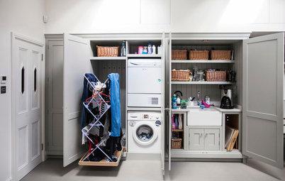 Где сушить белье в квартире... красиво