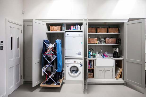 Beau Contemporary Laundry Room By Burlanes Interiors