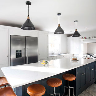 A Fresh & Modern Kitchen For A Busy Working Family By Burlanes