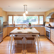 Contemporary Kitchen by Introspecs LLC
