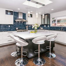 Contemporary Kitchen by Carolyn Woods Design Inc.